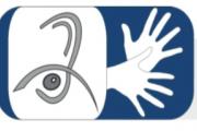 Logo des Fördervereins für hörsehbehinderte Menschen