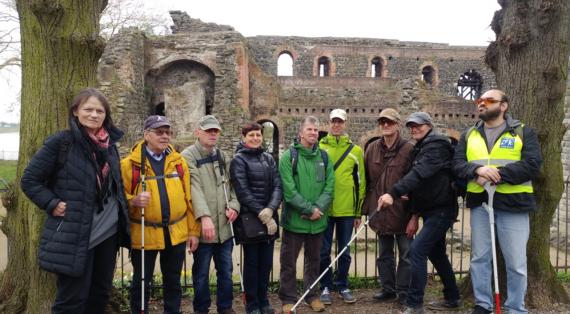 Gruppenfoto vom Historischen Rundgang
